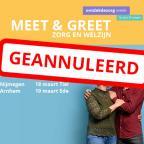 Meet & Greet geannuleerd
